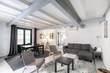 Apartamento para alugar desde 02 Oct 2020 (Carrer d'en Quintana, Barcelona)