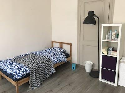 WG-Zimmer zur Miete ab 01 Sep. 2020 (Rue Vanderborght, Koekelberg)