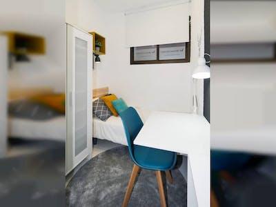 Private room for rent from 15 Dec 2019 (Avinguda de la Riera de Cassoles, Barcelona)