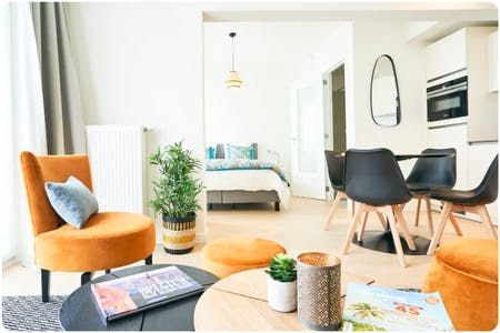 Appartement te huur vanaf 29 jan. 2020 (Boulevard Auguste Reyers, Schaerbeek)