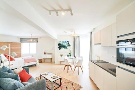 Appartement te huur vanaf 01 apr. 2020 (Boulevard Auguste Reyers, Schaerbeek)