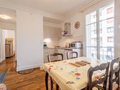 Appartement te huur vanaf 14 Dec 2019 (Rue Baudin, Levallois-Perret)