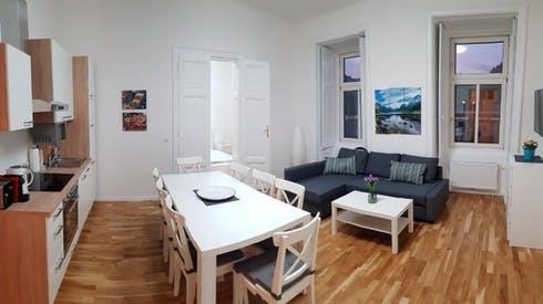 Wohnung zur Miete ab 30 März 2020 (Rechte Wienzeile, Vienna)