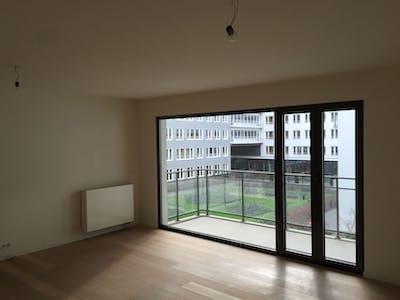 Appartamento in affitto a partire dal 22 Nov 2019 (Quai des Péniches, Brussels)