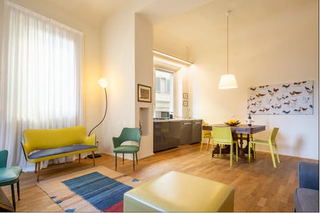 Appartement te huur vanaf 24 jan. 2020 (Via dei Saponai, Florence)