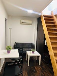 Wohnung zur Miete ab 06 Juni 2020 (Calle de Lavapiés, Madrid)