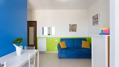 Studio-Apartment zur Miete ab 01 März 2020 (Via Giuseppe Ripamonti, Milan)