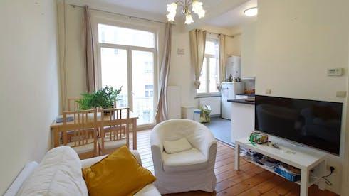 Appartement te huur vanaf 30 jun. 2020 (Rue de la Digue, Ixelles)
