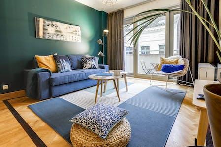 Wohnung zur Miete ab 21 Feb. 2020 (Rue Godecharle, Ixelles)