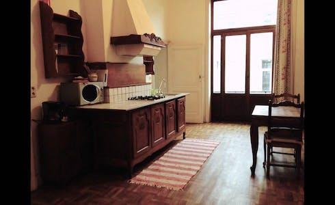 Appartement te huur vanaf 31 aug. 2020 (Rue de Rome, Saint-Gilles)