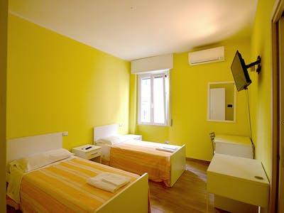 Mehrbettzimmer zur Miete ab 16 Jan. 2021 (Via Bordighera, Milan)