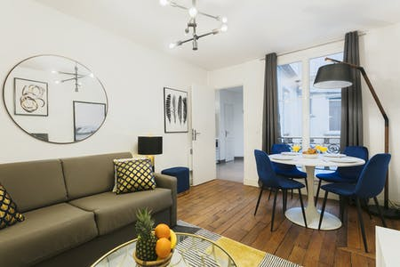 Wohnung zur Miete ab 08 Apr. 2020 (Rue des Bernardins, Paris)