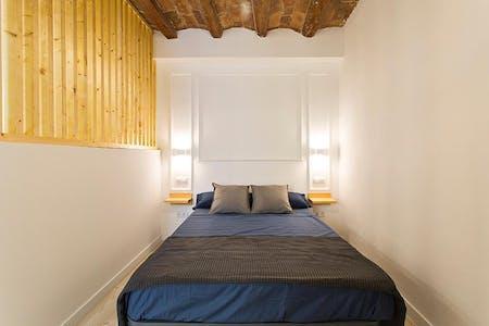 Studio-Apartment zur Miete ab 28 Jan. 2020 (Carrer de la Riera Baixa, Barcelona)