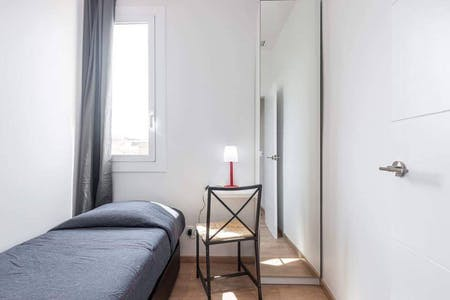 Chambre privée à partir du 02 juin 2020 (Carrer del Vint-i-sis de Gener 1641, Barcelona)
