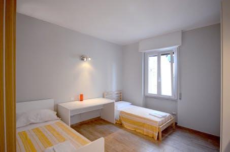 Mehrbettzimmer zur Miete ab 01 Apr. 2020 (Via Bordighera, Milan)