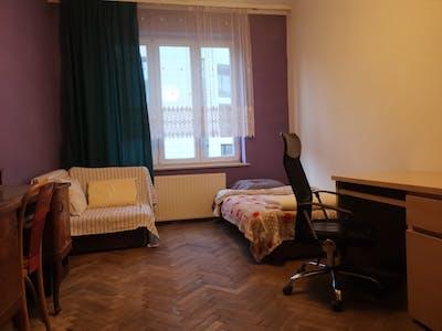 WG-Zimmer zur Miete ab 29 Feb. 2020 (ulica Michała Stachowicza, Kraków)