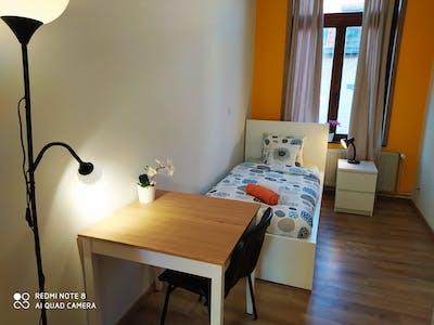 WG-Zimmer zur Miete ab 06 Apr. 2020 (Rue des Deux Tours, Saint-Josse-ten-Noode)