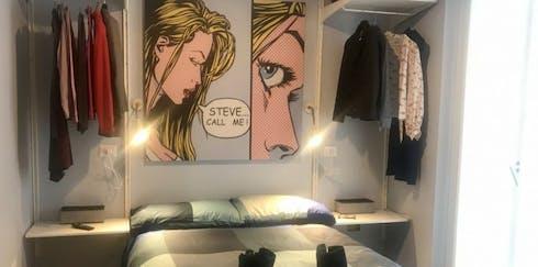 Appartement te huur vanaf 16 apr. 2020 (Via Numa Pompilio, Milan)