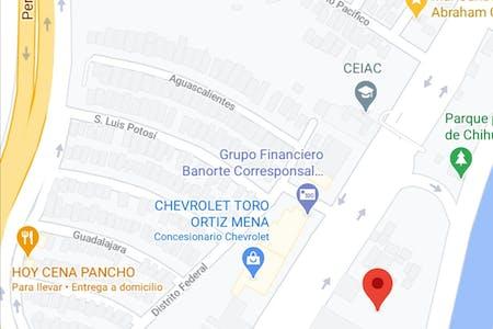 Disponible à partir de 28 janv. 2021 (Calle Abraham González, Chihuahua)
