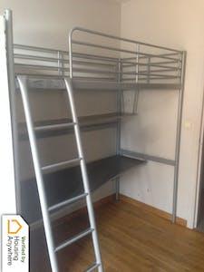 Appartement te huur vanaf 16 Nov 2018 (Rue des Carmes, Namur)