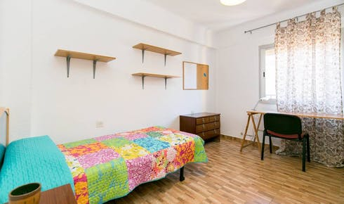 Room for rent from 01 Sep 2018 (Plaza del Doctor López Neyra, Granada)