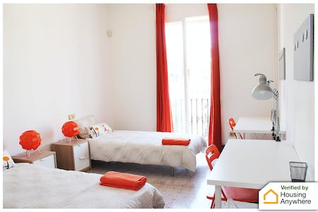 Room for rent from 04 Sep 2018 (Gran Via de les Corts Catalanes, Barcelona)