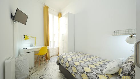 Private room for rent from 01 Jul 2019 (Carrer Gran de Gràcia, Barcelona)