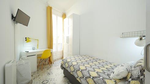 Privatzimmer zur Miete von 20 Jun 2020 (Carrer Gran de Gràcia, Barcelona)