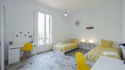共用的房间租从01 Jul 2020 (Carrer Gran de Gràcia, Barcelona)