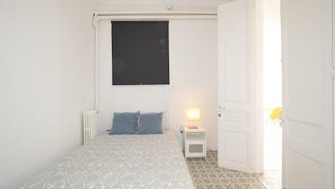 Private room for rent from 10 Feb 2020 (Carrer Gran de Gràcia, Barcelona)