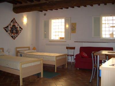 Studio for rent from 01 Sep 2017  (Via Vallerozzi, Siena)