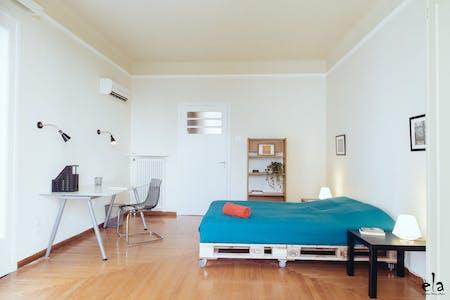 Quarto privado para alugar desde 18 Jul 2019 (Kipselis, Athens)