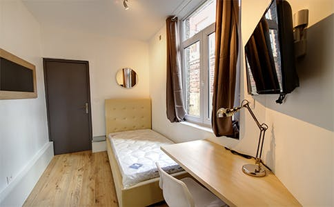 Room for rent from 29 Sep 2017  (Rue Edmond Bailleux, Lille)