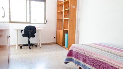 Zimmer zur Miete von 01 Febr. 2018 bis 02 Jul. 2018 (Carrer de la Ciutat de Mula, Valencia)
