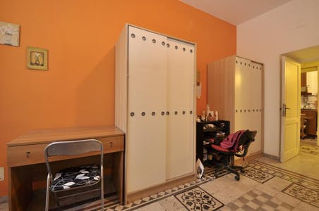 Room for rent from 31 Aug 2017 till 31 Aug 2018 (Via Portuense, Roma)