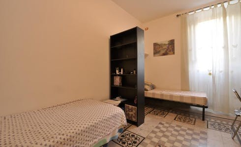 Room for rent from 25 Mar 2018 (Via Portuense, Roma)