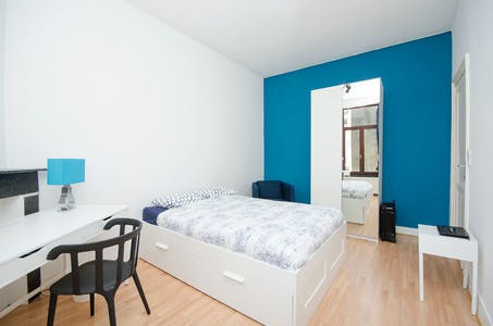 Private room for rent from 01 Aug 2019 (Rue Bordiau, Brussels)