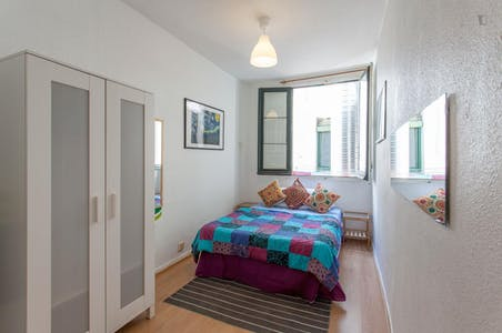 Room for rent from 19 Sep 2017 till 31 Aug 2018 (Calle Concepción Jerónima, Madrid)