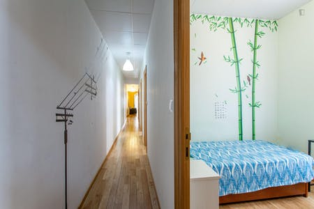 Room for rent from 01 Feb 2018 till 31 Aug 2018 (Calle Mesonero Romanos, Madrid)