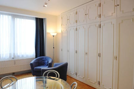 Apartment for rent from 16 Apr 2019 (Boulevard de la Cambre, Brussels)
